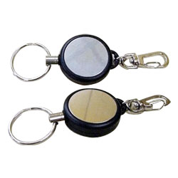 multi function steel cord badge reel