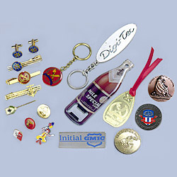 Badges, Pins, Medallion And Tie Clips