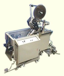 bag maker with labeling machines