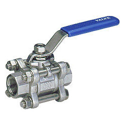 3-pc full port ball valves