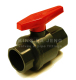 Abs Ball Valves (two-piece)