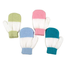 bath exfoliating gloves