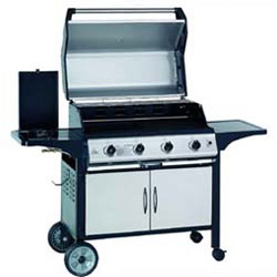 4 burner hooded gas bbq grills