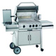 3 burner hooded gas bbq grills