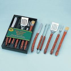 5pcs stainless steel bbq tool sets