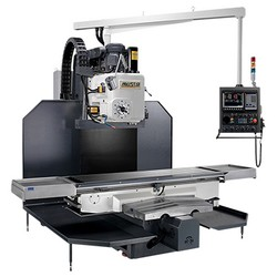 bed type vertical & horizontal milling machines