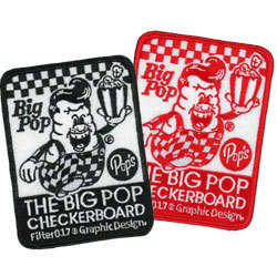 big pop embroidered patches
