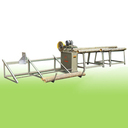 big type round bamboo cross cutting machines