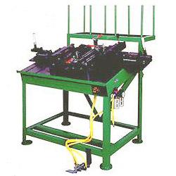 bmx mtb front triangle assembling machine