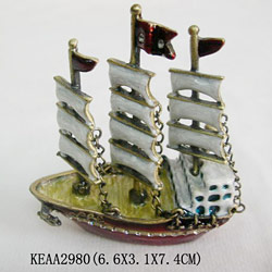 boat jewelry box