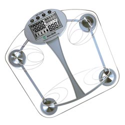 body fat and water analyzer scale
