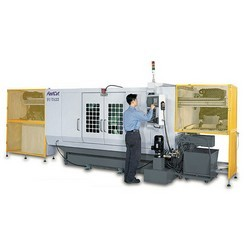 both ends simultaneous cutting cnc lathes