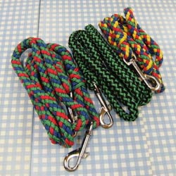 braided cord leash and lead