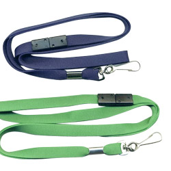 10mm economy breakaway flat lanyards