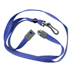 10mm breakaway metal free lanyard