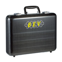 woven carbon briefcase