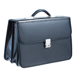 carbon soft briefcase