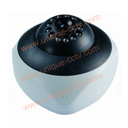 built out 12pcs ir leds mini dome cameras