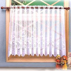 cafe curtain rod system