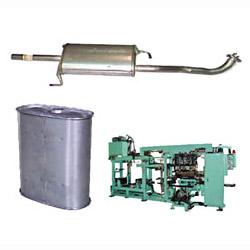 car muffler inner tube separaters