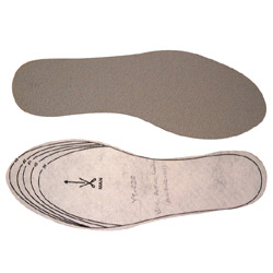 carbon anti bacterial insole