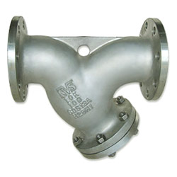 cast stainless steel y-strainer