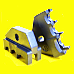 casting 4140 wire clamp heads (investment casting)
