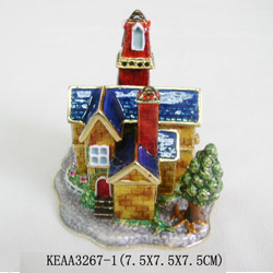 castle jewelry box