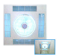 ceiling air cleaning fan