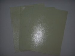 chemical sheets with white glue