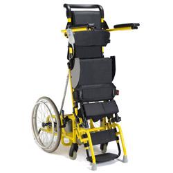 child standing wheelchair
