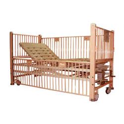 children nursing bed