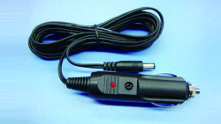 cigar plug to dc plug cable with led indicator