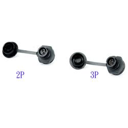 circular connector pcb