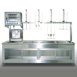 semiautomatic ultrasonic cleaning machine