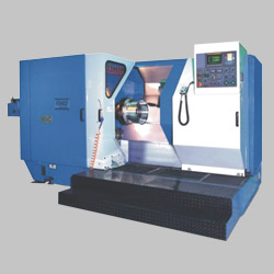 cnc horizontal wheel turning lathes