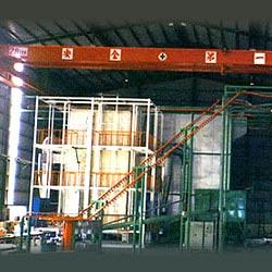 aluminum horizontal type coating equipment