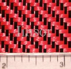 colored carbon fabrics
