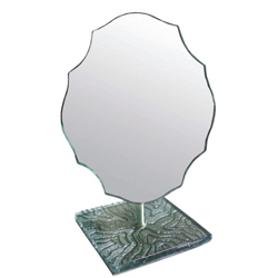 colorful stand mirror