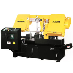 column type fully automatic saw machine
