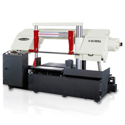 column type semi automatic band saw