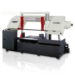 column type semi automatic band saws