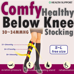 comfortable healthy knee socks