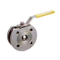 compact wafer type flanged ball valves