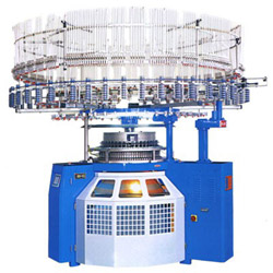computerized single kintting machine series with auto stripper six color