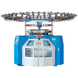 computerized single knit electronoic loop pile terry jacquard machine series