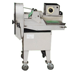 conveying vegetable slicers