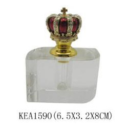 crown crystal perfume bottle