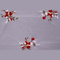 custom embroidered fabric