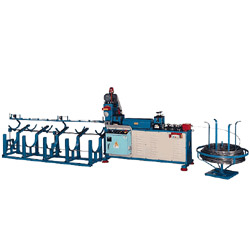 a type wire straightening cutting machine